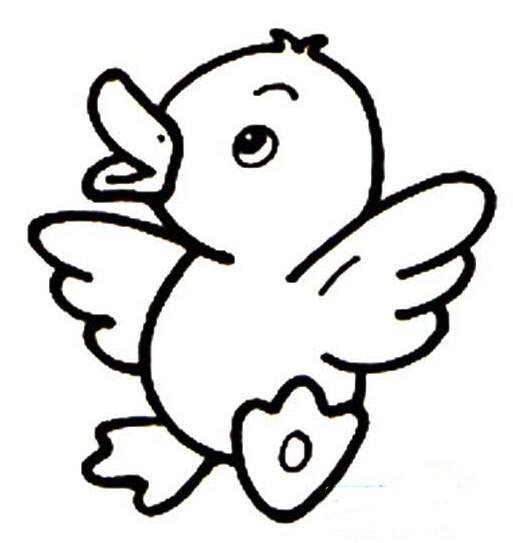 """小鸭子学飞   小鸭子非常嫉妒雄鹰:为什么都一样长着翅膀,雄鹰就可以翱翔长空,而我就只能呆在这烂池塘里为主人生蛋呢?它决定冲向蓝天。'   这天小鸭子摩拳擦掌地要学飞。小鸭子踮起脚掌,拍打着翅膀,刚跳上去了一点点,又掉了下来,于是它又反反复复的跳,反反复复的落下来,小鸭子心想:这样下去可不行,得找个老师教教我才行。于是小鸭子求学的路开始了,因为森林离这里很近,所以小鸭子决定去森林。到了森林小鸭子看见了小鸟在飞翔,于是,你扑打的翅膀,大声地对着小鸟喊:""""小鸟姐姐,小鸟姐姐,你能不"""