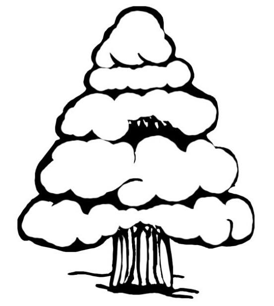 大树的简笔画图片 大树爷爷生病了